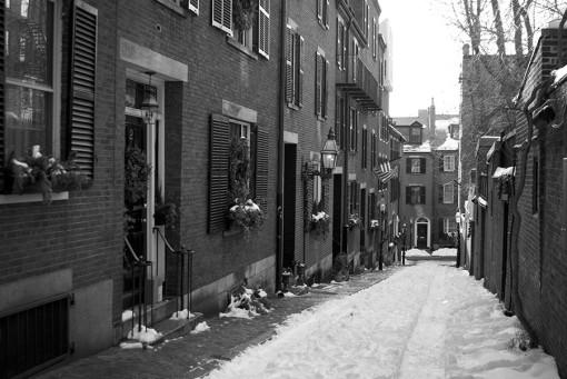 Street in Boston