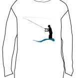 Fly Fishing T-Shirt Front