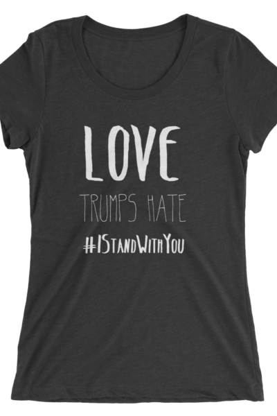 Love Trumps Hate - Black