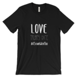 Love Trumps Hate Unisex - Black