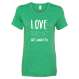 Love Trumps Hate - Green