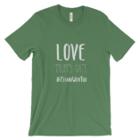Love Trumps Hate Unisex - Leaf