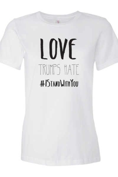 Love Trumps Hate - White