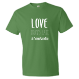 Love Trumps Hate Mens - Green Apple