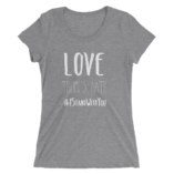 Love Trumps Hate - Grey