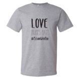 Love Trumps Hate Mens - Heather Gray