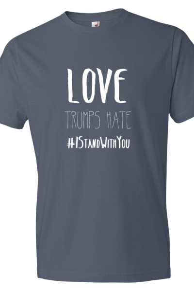Love Trumps Hate Mens - Lake