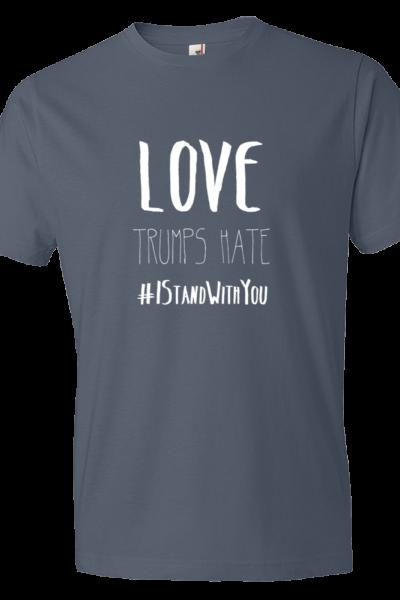 Love Trumps Hate Mens - Lake